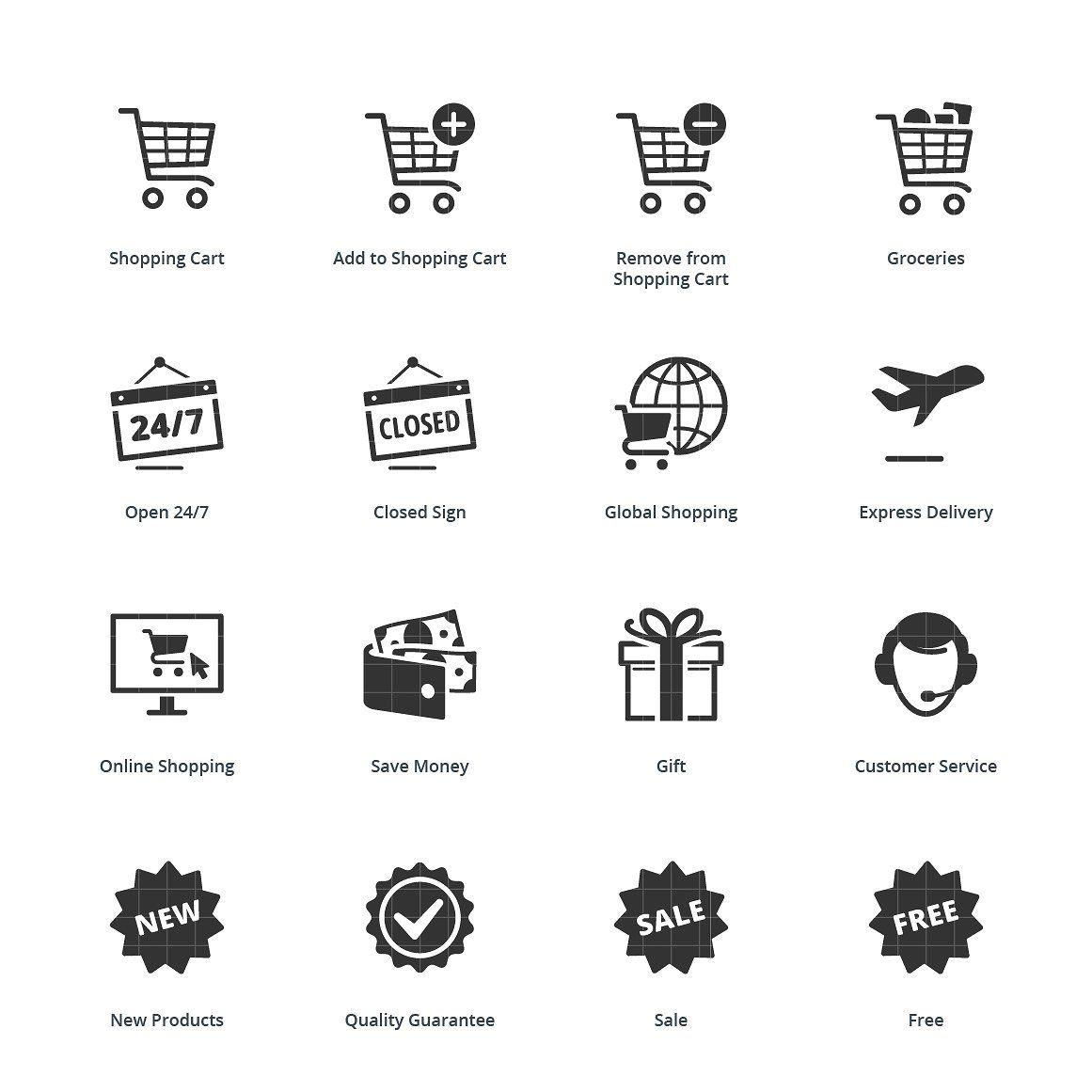 E Commerce Icons Set 2 Blue Series Icon Set Ecommerce