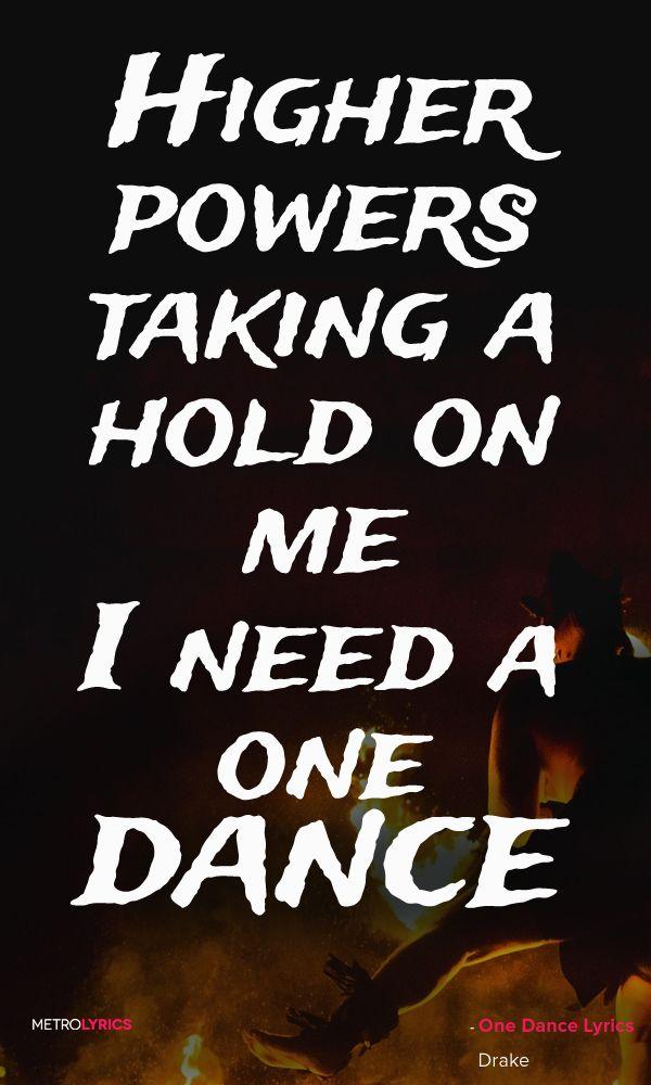 Lyric drake lyric : One Dance