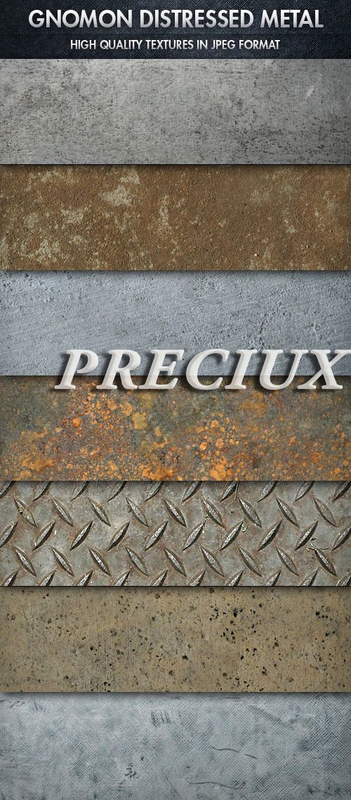 Gnomon Workshop - Metal Textures | Preciux | Pinterest