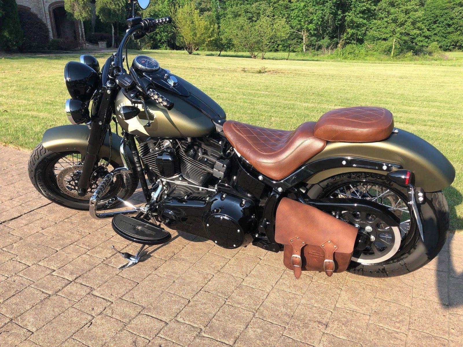 Ebay 2016 Harley Davidson Flss Softail Slim S 2016 Harley Davidson Flss So In 2020 Harley Davidson Images Harley Davidson Motorcycles Fatboy Harley Davidson Bikes