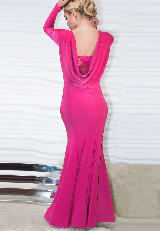 Dance America D708 - Long Crinoline Banded Dress @ DanceShopper.com ...