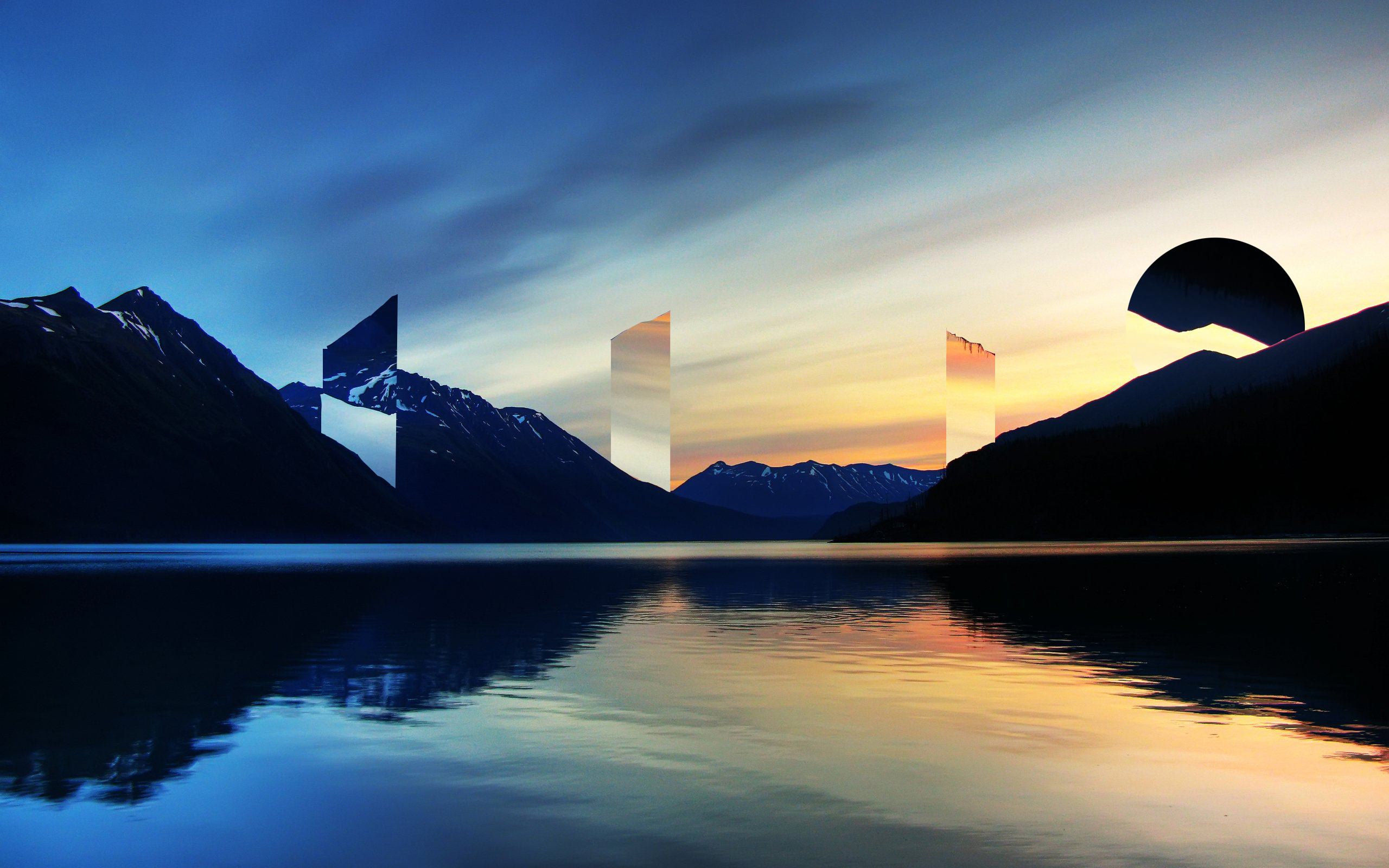 Tried Making A Polyscape From A Top Post Here Wallpaper Hd Wallpaper R Wallpaper