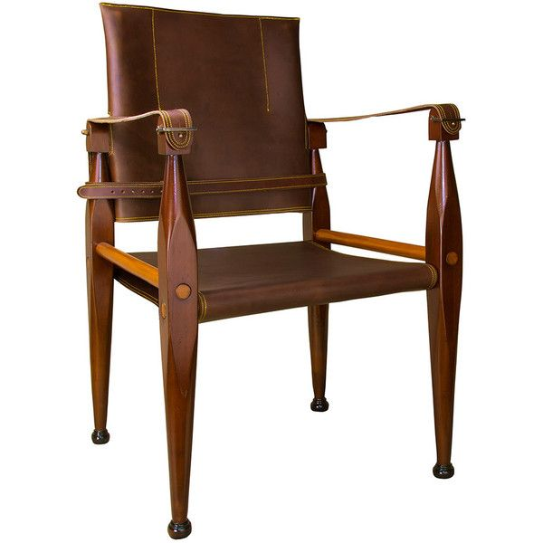 authentic models bridle leather campaign chair 28 935 php liked