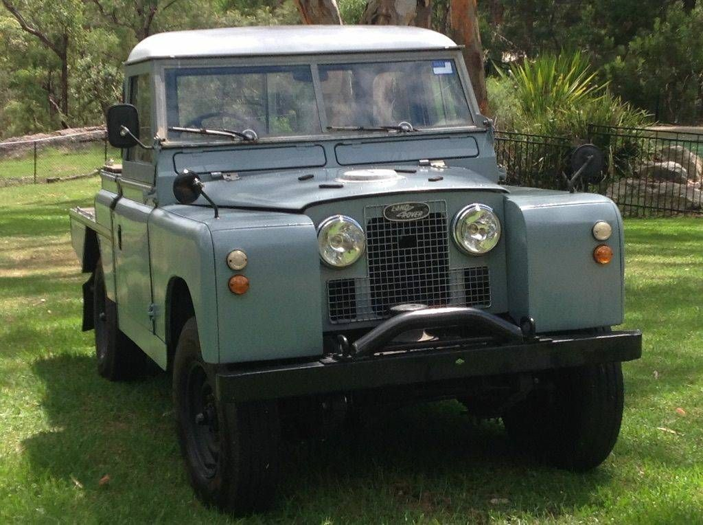 Land Rover Series 2a 1963 Right Hand Drive 109 2 4 Liter Petrol Motor With Sd 9 900 Hilton Head Sc For Craigslist Britishcar