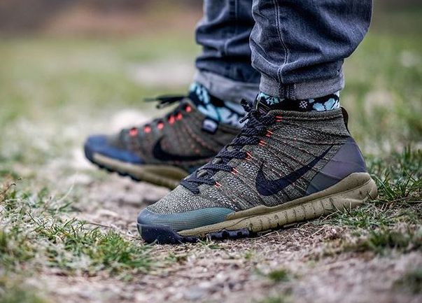 Nike Flyknit Trainer Chukka FSB Sequoi Sneakerboot (4) | Mens ...