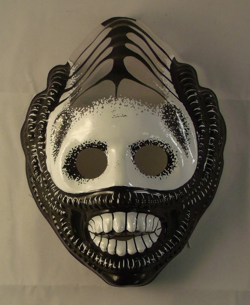 Godzilla - retro vintage plastic Halloween mask made by the Ben ...