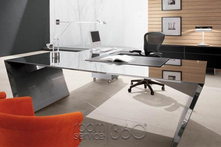 Stainless steel office desk Steel Work Vega Modern Office Desk In Stainless Steel By Cattelan Italia Networkworldinfo Vega Modern Office Desk In Stainless Steel By Cattelan Italia