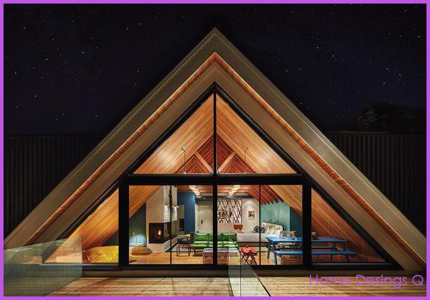Cool A Frame Home Designs