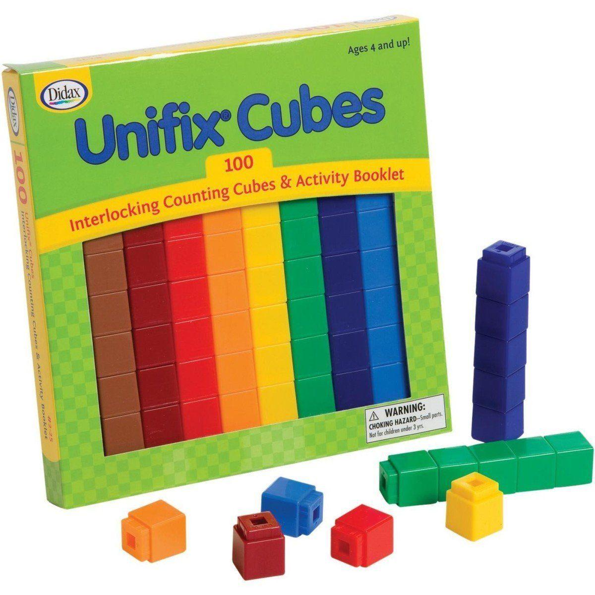 Amazon Unifix Cubes 100 Count Toys Amp Games