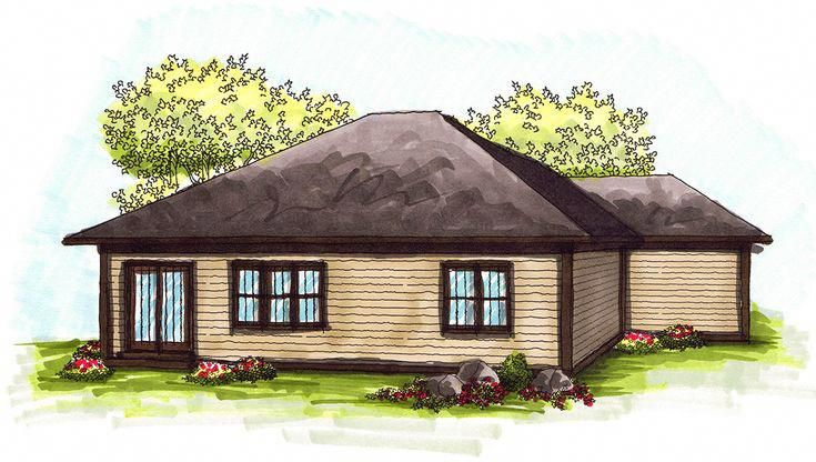I Really Like This Good Looking Tiny Home Plans In 2020 Ranch Style House Plans Ranch Style Homes One Level Homes