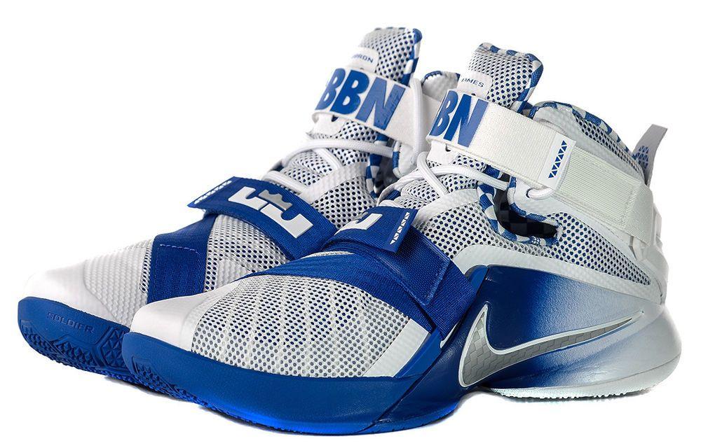 sale retailer b44e1 3d047 Nike Lebron Soldier IX PRM KENTUCKY BBN Mens Basketball ...
