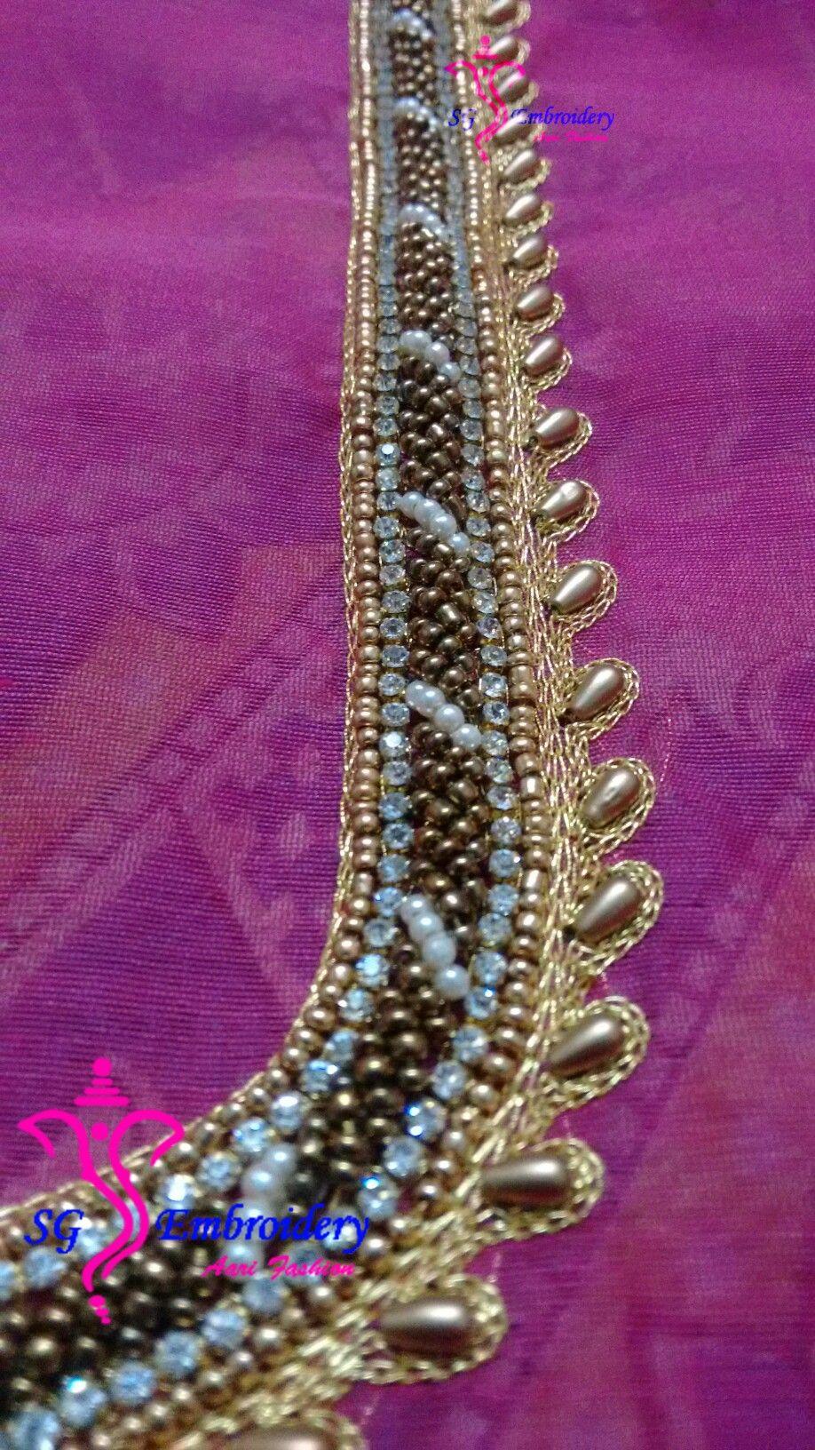 Beaded load blouse work aari simple designs news design also blouses in pinterest rh
