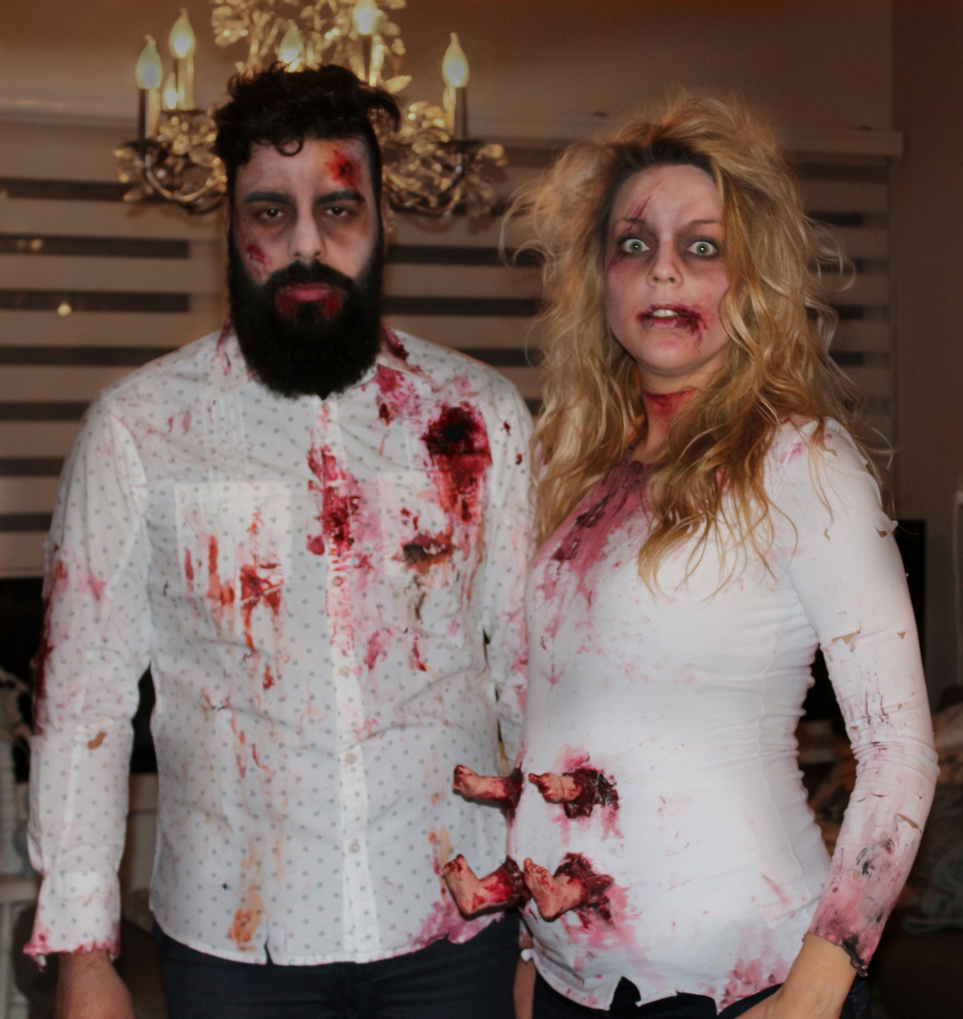 Coolest Halloween costume ever! All you gotta do is cut up a baby ...