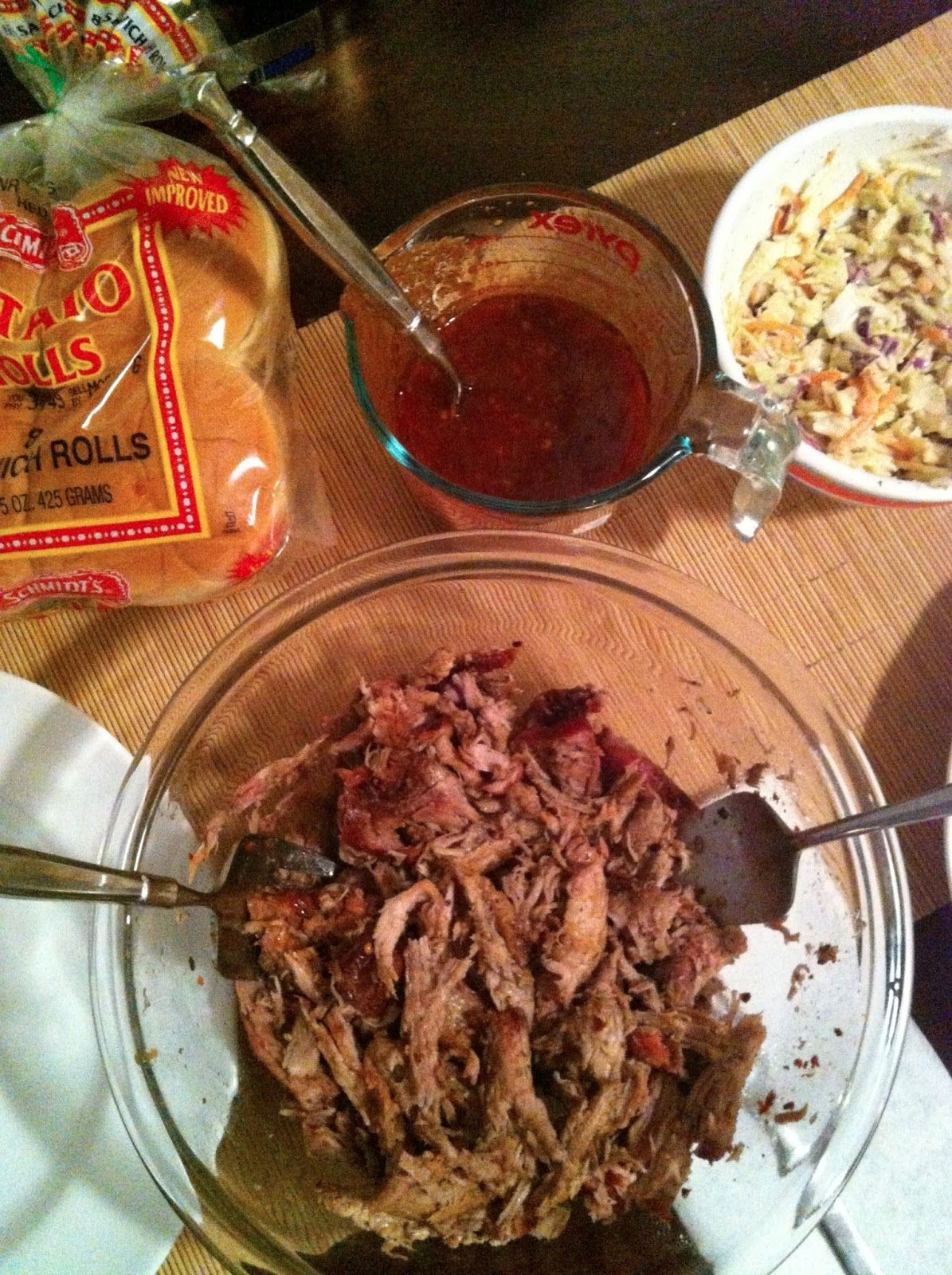 taylor made: slow-cooked pork barbecue & homemade bbq sauce