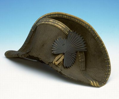 334cfe7cb29 Bicorn hat worn by Horatio Nelson (1758-1805) by Unknown - print ...