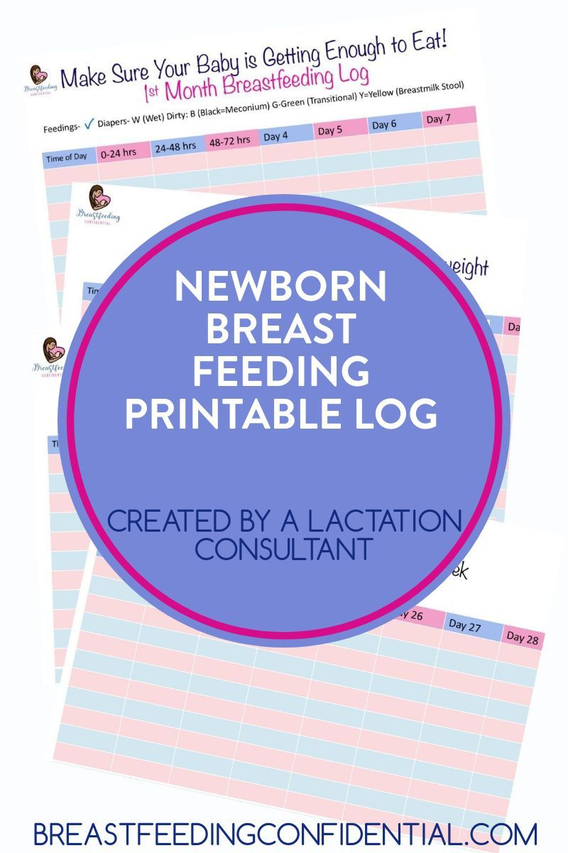 Every new mom will want this free newborn breastfeeding ...