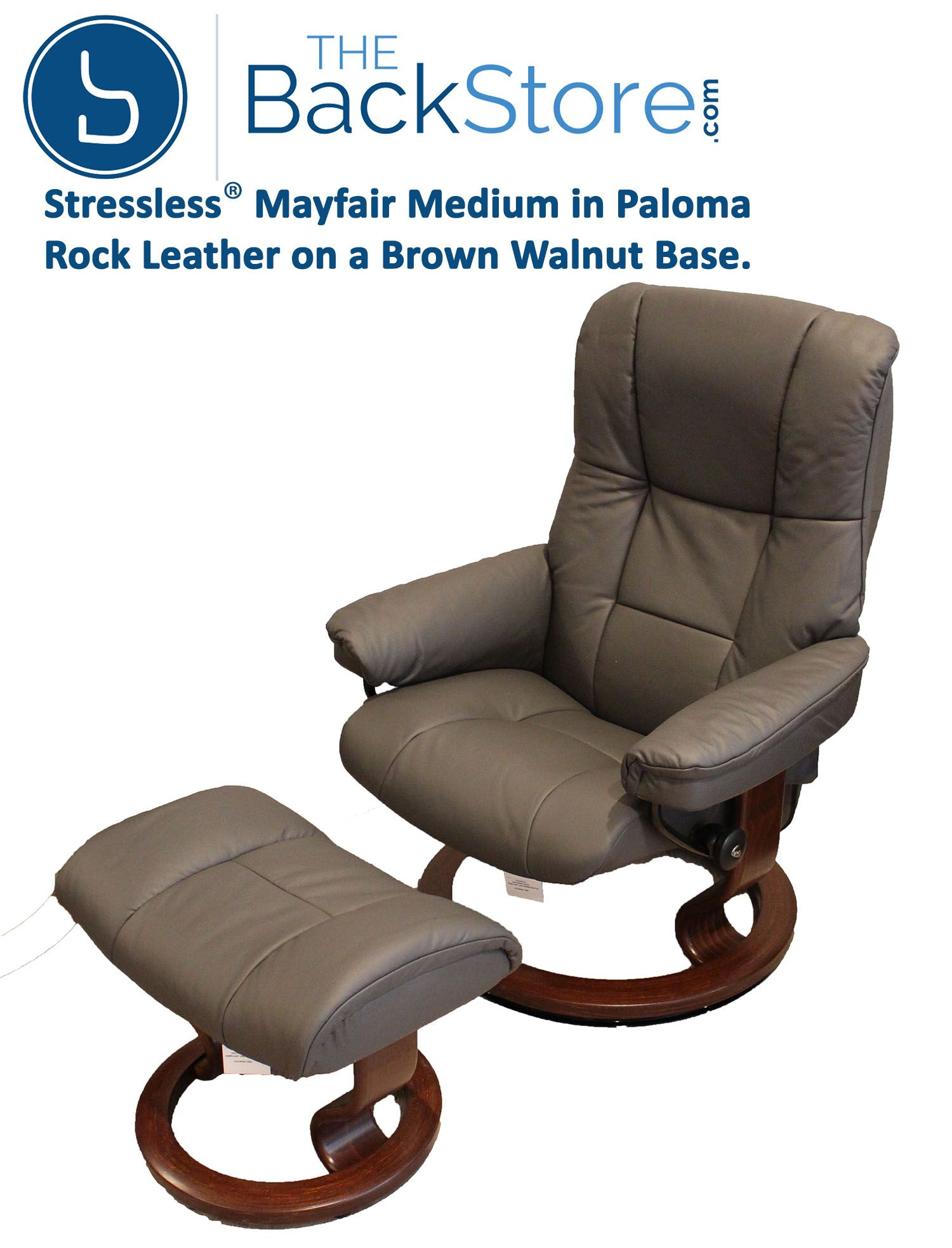 Stressless Ruby Stressless Mayfair Medium Recliner With Ottoman By Ekornes In 2019