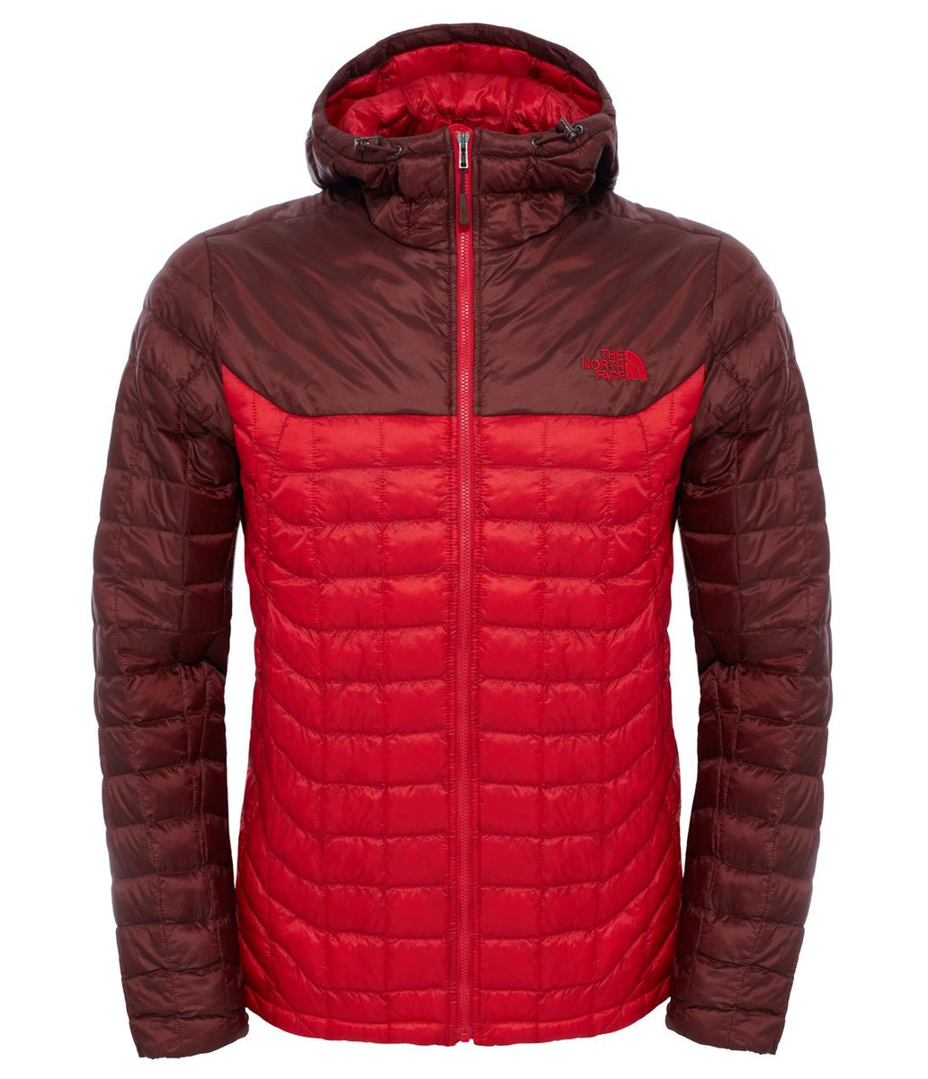 best sneakers 6d63d 2983c The North Face Men's ThermoBall Hoodie - TNF Red / Sequoia ...