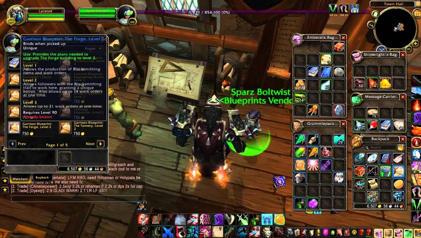 Awesome world of warcraft warlords of draenor how to level up awesome world of warcraft warlords of draenor how to level up garrison buildings malvernweather Gallery