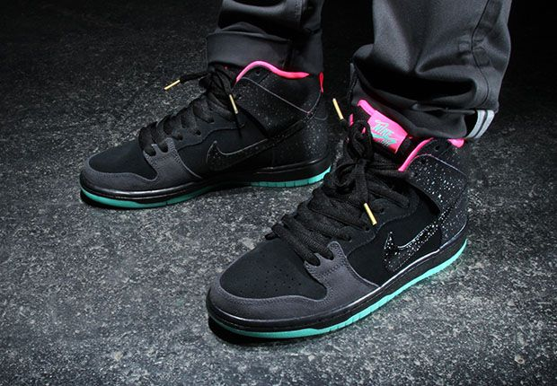 Premier x Nike SB Dunk High Northern Lights  Release Date   SneakerNewscom