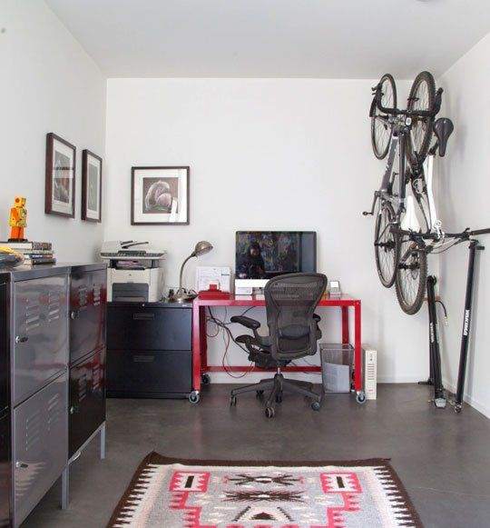 An Industriously Industrial Home Office — Final Frame