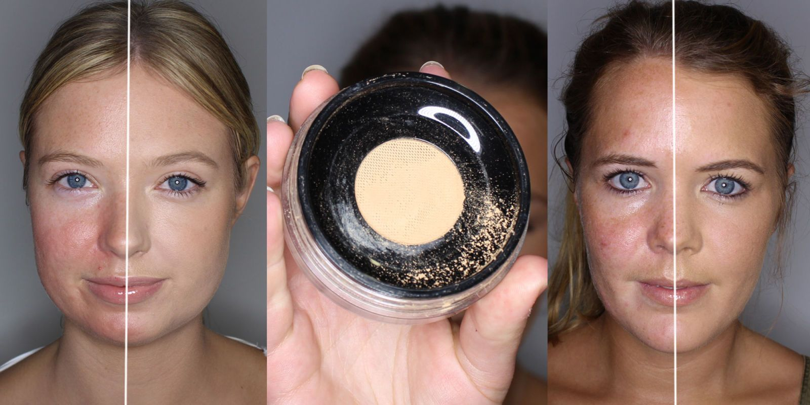 How to cover redness and acne with mineral foundation