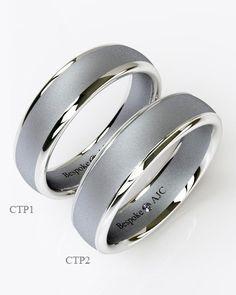 Charmant Men Platinum Wedding Ring
