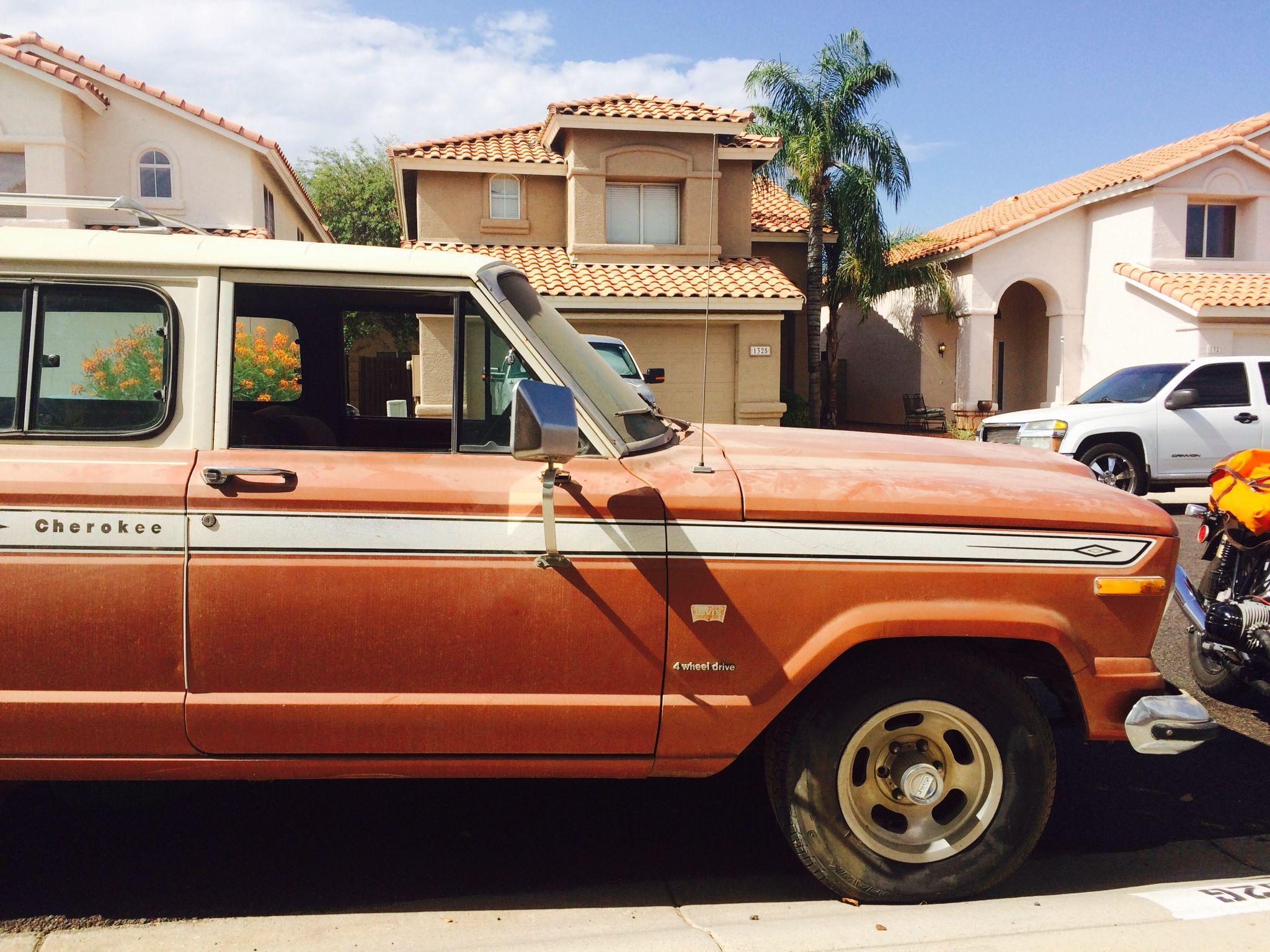 1975 jeep cherokee sj barn find