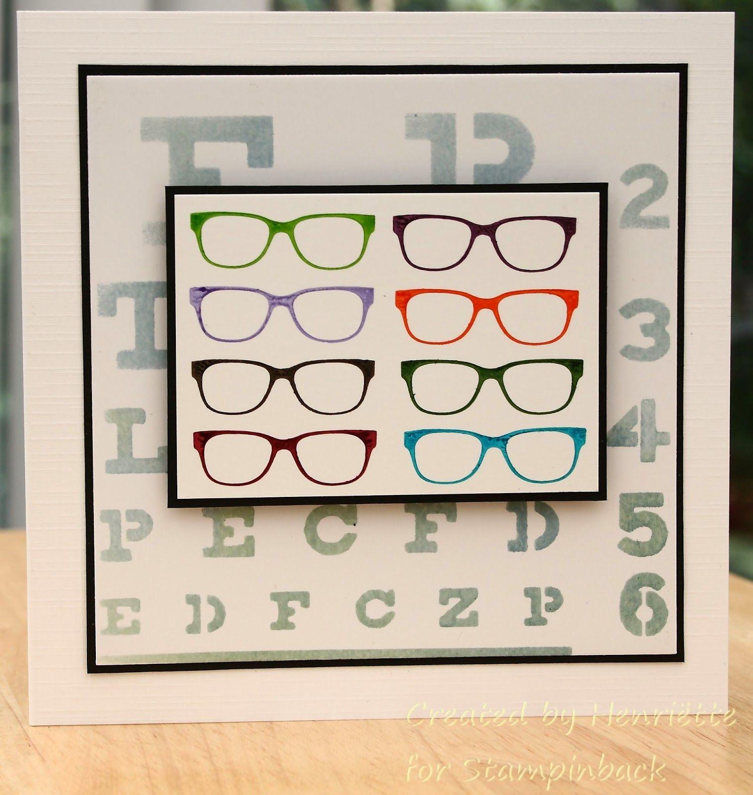 brillen met afbeeldingen  kaarten