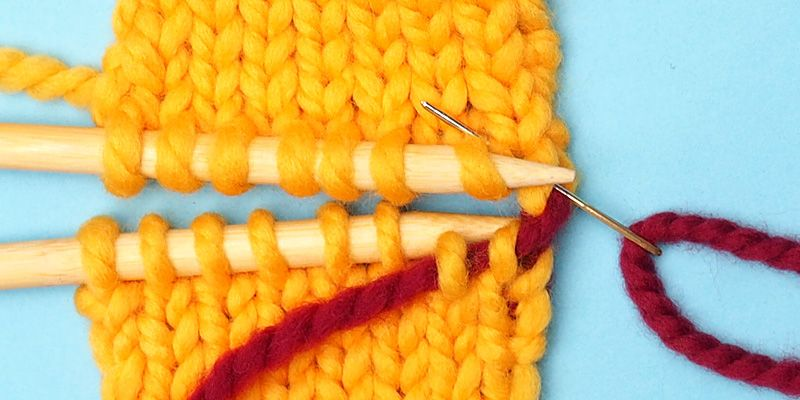 Kitchener stitch in two simple steps knitting blogs