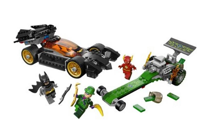 NEW LEGO 76012 DC Comics Super Heroes Batman The Riddler Chase Batmobile Flash