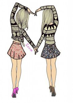 best friends cartoon drawings - Yahoo Image Search Results ...