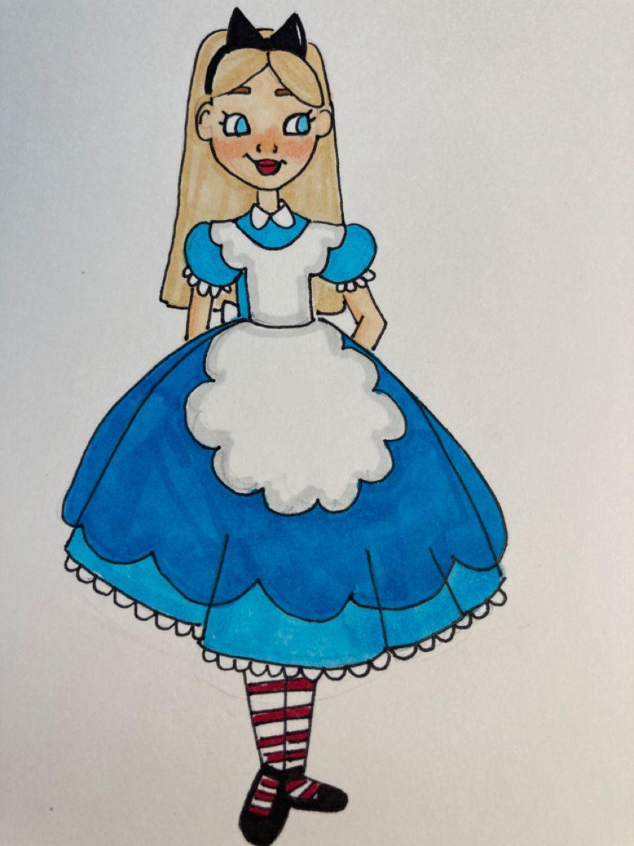 27 Disney princess alice ideas in 27  alice, princess alice