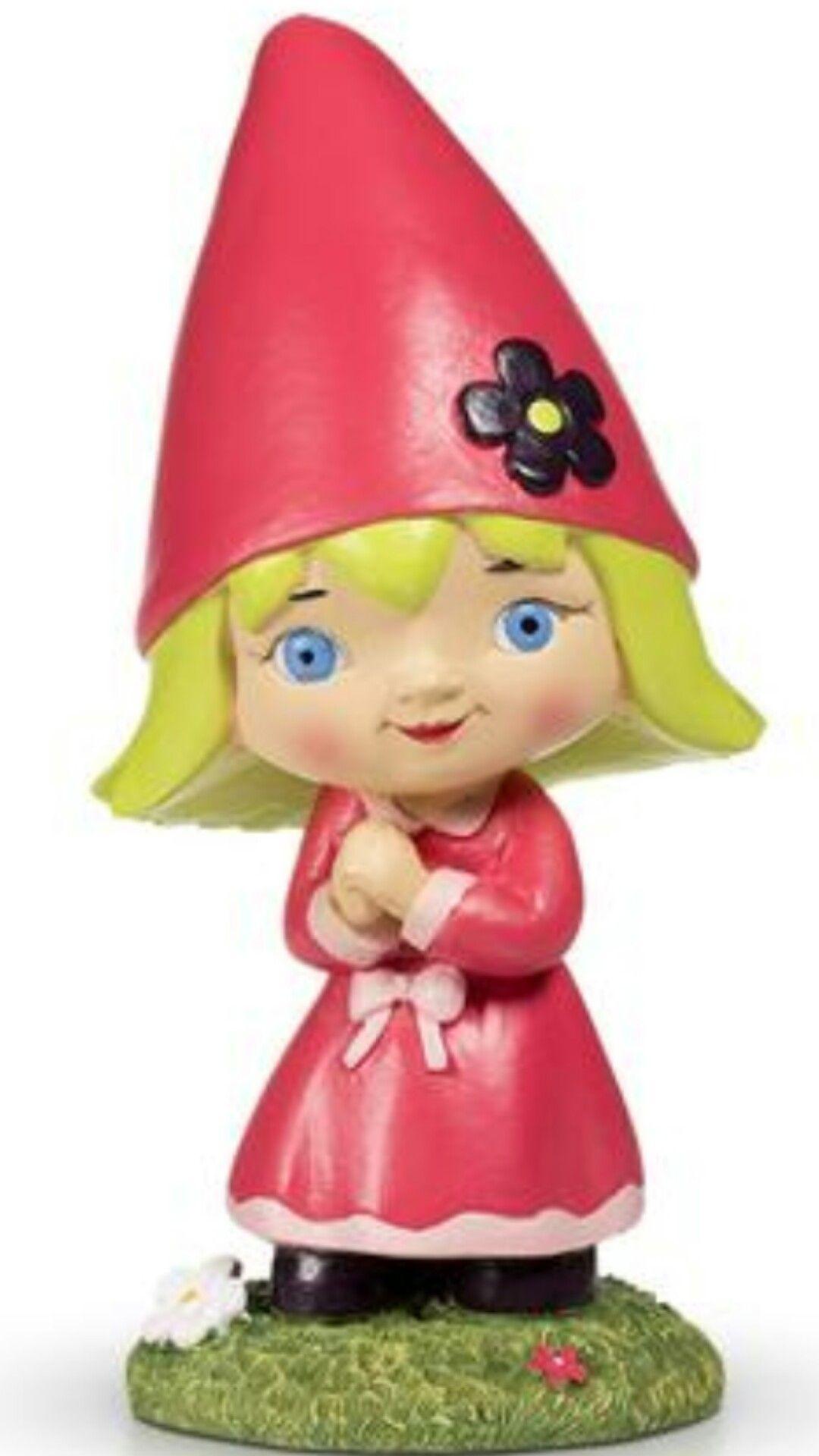 Incroyable Little Girl Garden Gnome