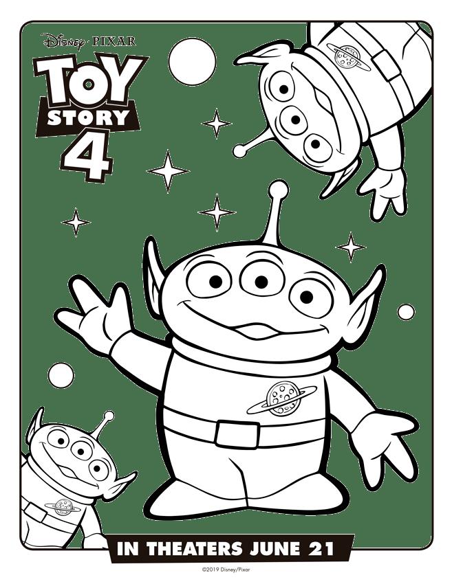 Marcianitos Toy Story 4 Dibujos Para Imprimir Y Pintar Dibujos Toy Story Toy Story Para Colorear Imprimibles Toy Story Gratis