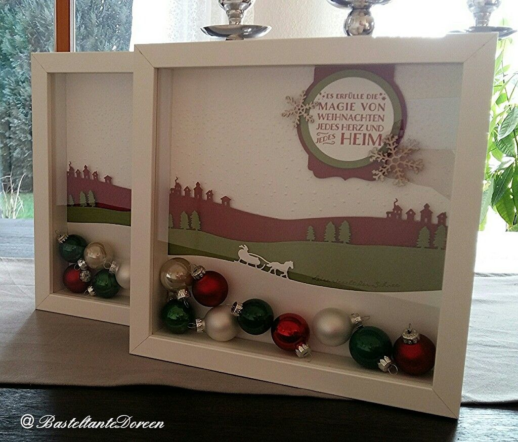ribba rahmen zu weihnachten stampin up 3d or not a card. Black Bedroom Furniture Sets. Home Design Ideas