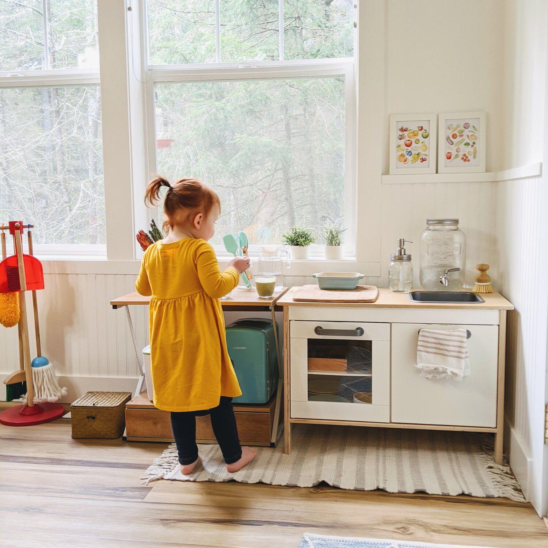 A Montessori Toddler Kitchen Part II  — Montessori in Real Life
