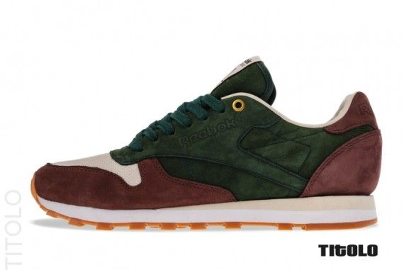 Highs And Lows X Reebok Classic Leather Ctm Unique Sneakers Reebok Classic Classic Leather