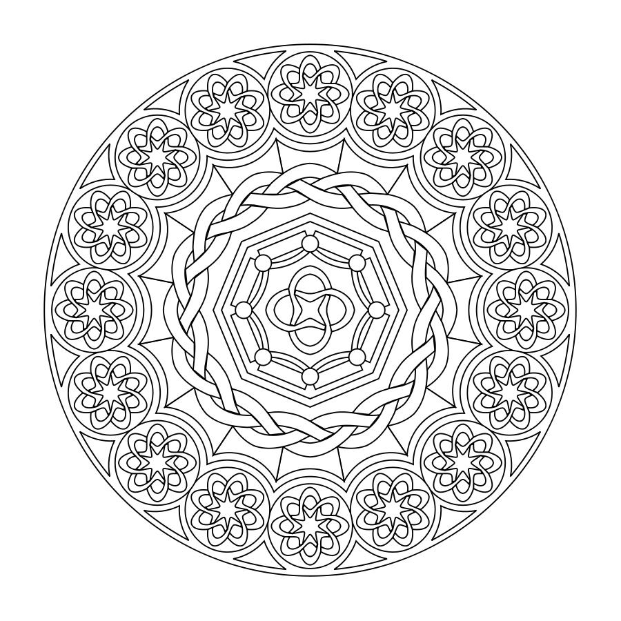 Printable Mandalas Relaxation Day Activity Idea Mandalas