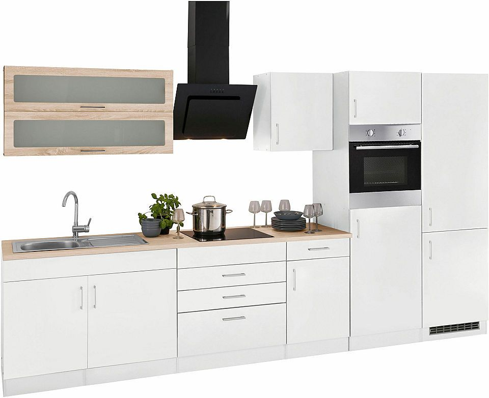 Held Möbel Küchenzeile ohne E-Geräte »Utah«, Breite 350 cm Jetzt - küchenzeilen ohne geräte
