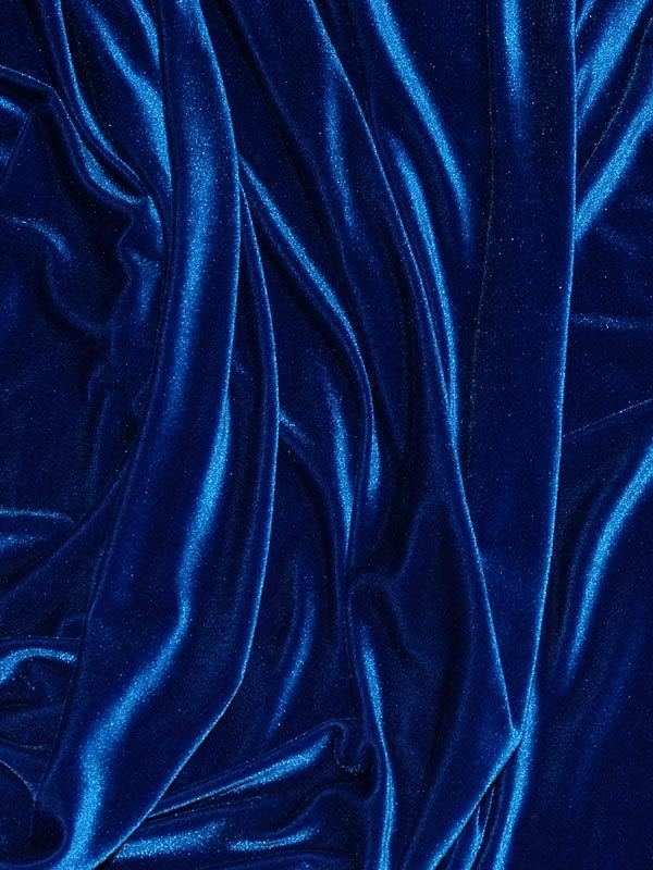 Royal Blue Stretch Velvet 60 Wide Poly Spandex Bty Ebay