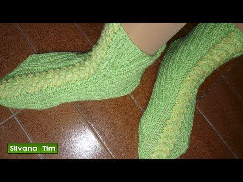 Medias - calcetines tejidos a crochet (ganchillo) para bebés ...