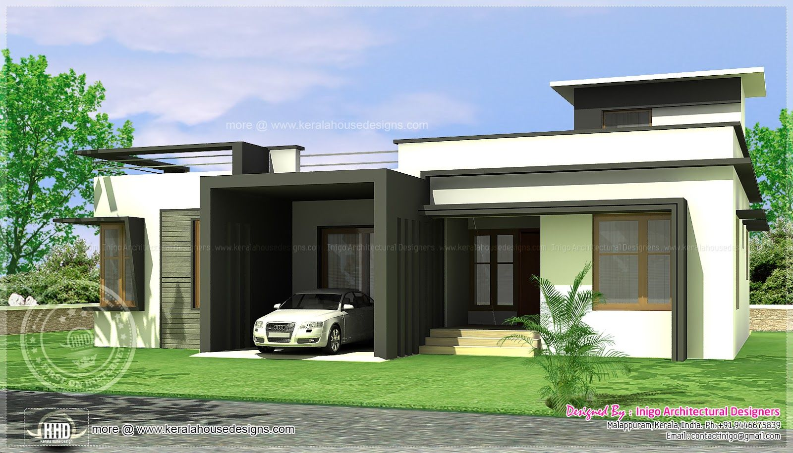10 Awesomely Simple Modern House Plans  Modern House