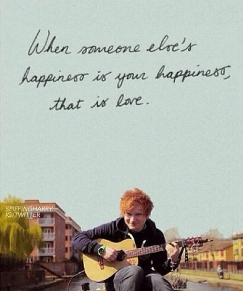 Beautiful quote for any relationship :) whether it's your family, friends, or significant other; seeing them happy brings so much joy :)