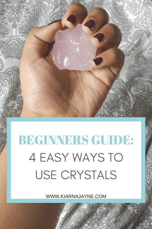 Beginners Guide 4 Easy Ways To Use Crystals #crystals #healingcrystals #spiritual #spirituality