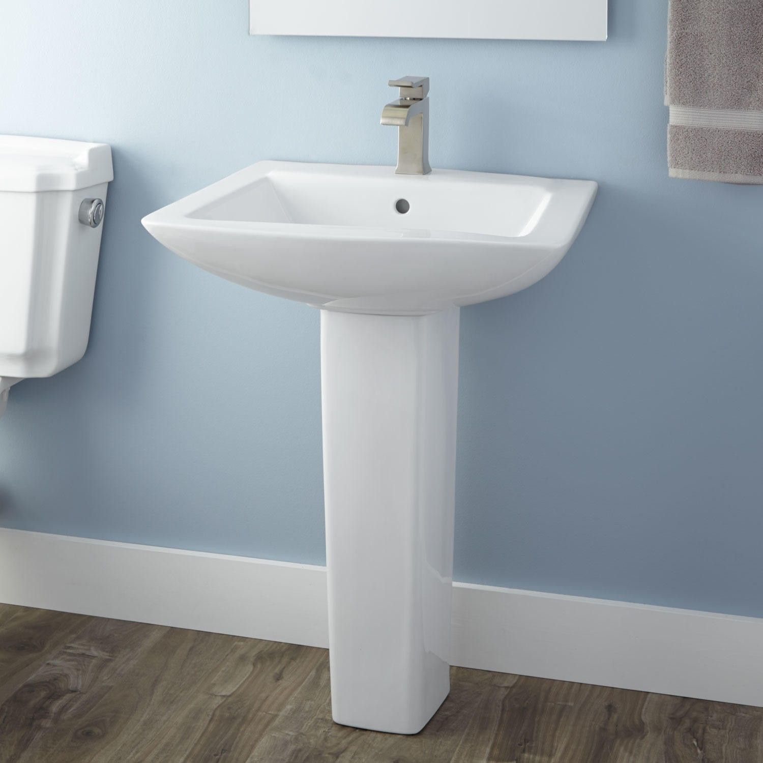 Bathroom Lavatory Sink Darby Porcelain Pedestal Sink Pedestal Pedestal Sink And Sinks