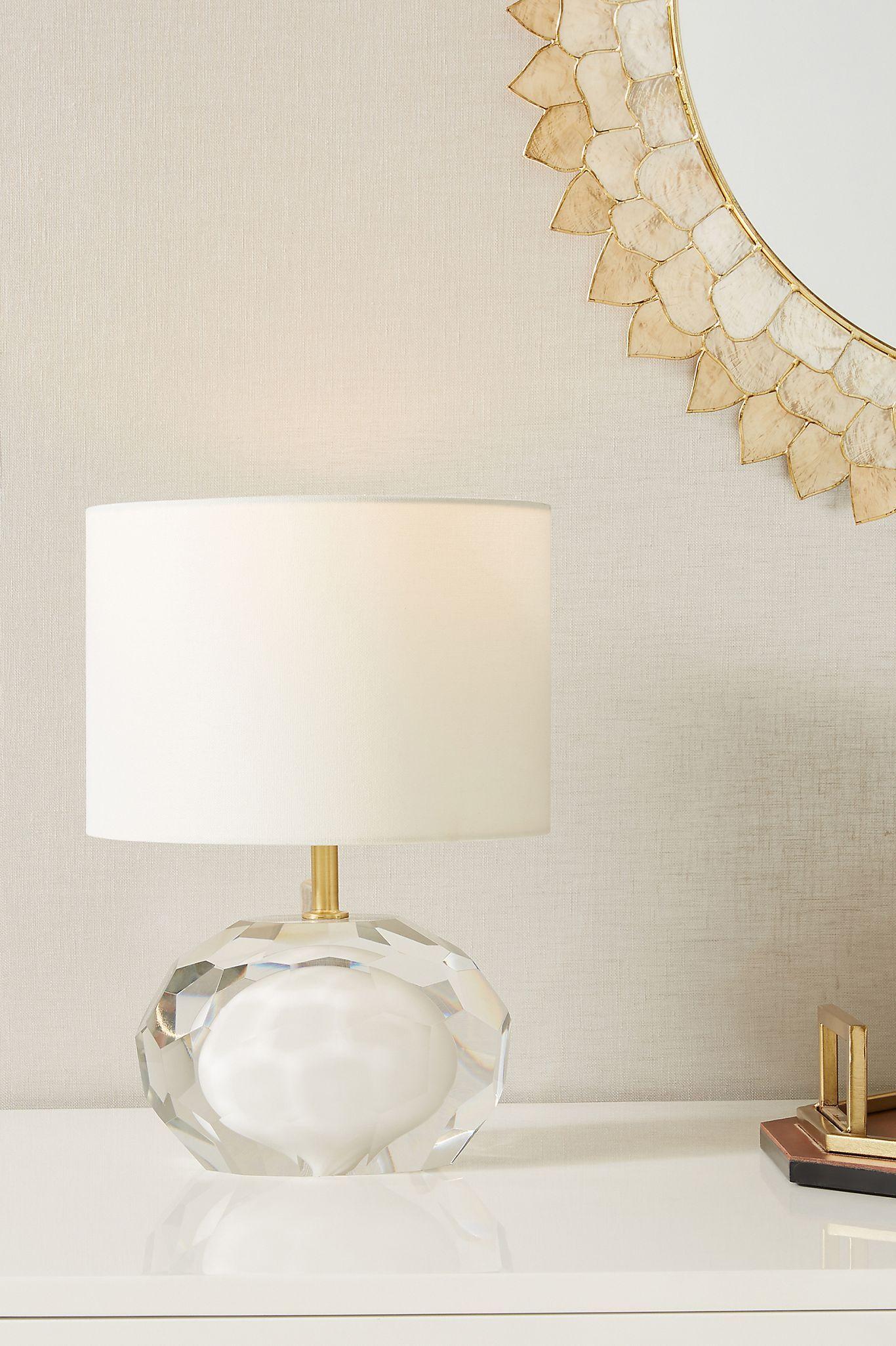 Riviera Lamp Ensemble In 2020 Table Lamp Lamp Glass Lamp Base