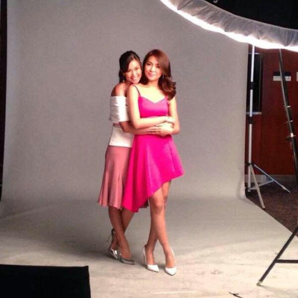 PSY with Amor and Yna