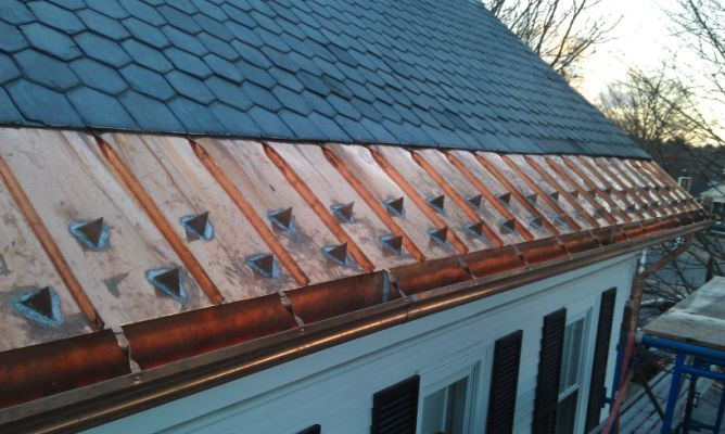 Copper Roofing Newton Wellesley Roofing Copper Roof Slate Roof