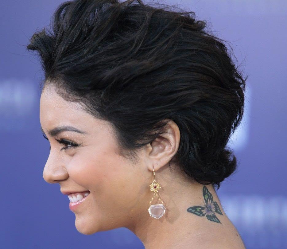 Vanessa hudgens tattoos, Vanessa